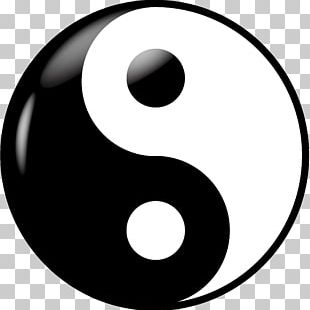 Yin And Yang Taoism Symbol PNG