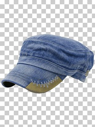 Baseball Cap Hat Denim Embroidery PNG