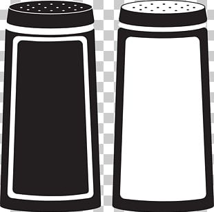 Chili Con Carne Black Pepper Salt And Pepper Shakers PNG