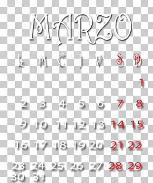 Calendar Handwriting Font Area Body Jewellery PNG