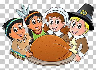 Thanksgiving Day Pilgrims PNG