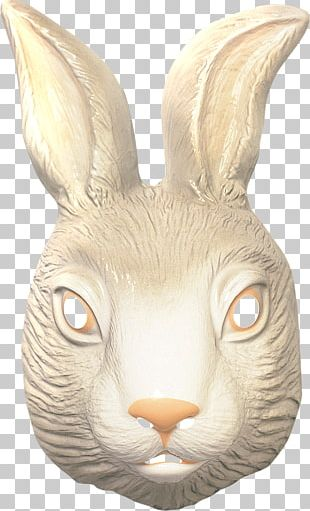 Easter Bunny Mask Rabbit Costume Party PNG