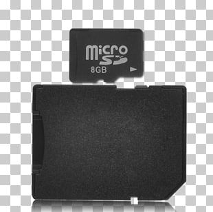 Laptop MicroSD Secure Digital Flash Memory Cards Computer Data Storage PNG