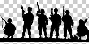 Soldier Silhouette Military PNG