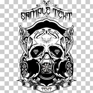 Printed T-shirt Skull Top PNG