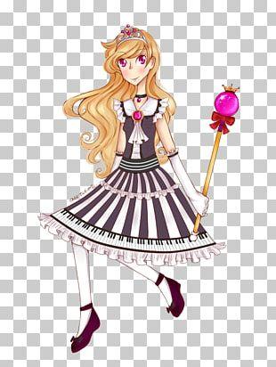 Mangaka Costume Design Cartoon Doll PNG