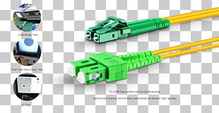 Electrical Cable Single-mode Optical Fiber Optical Fiber Cable Optical Fiber Connector PNG