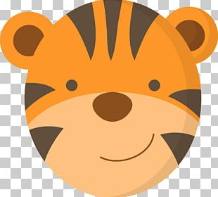 Tiger Animal Face PNG