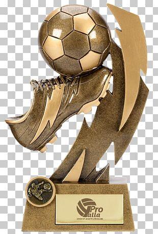 Trophy Award Football Commemorative Plaque Medal PNG