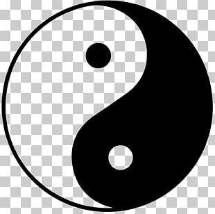 Yin And Yang Symbol Taoism Taiji PNG