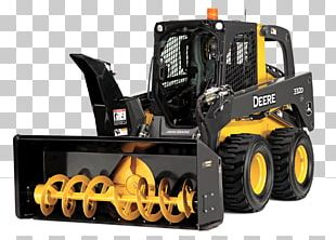 Bulldozer John Deere Caterpillar Inc. Skid-steer Loader Heavy Machinery PNG