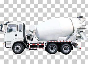 Cement Mixers Concrete Pump Truck Ready-mix Concrete PNG