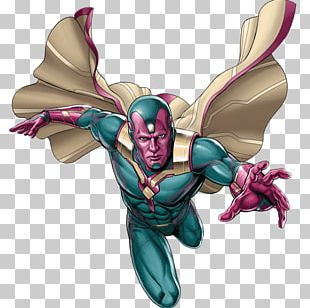 Vision Iron Man Ultron Avengers Marvel Cinematic Universe PNG