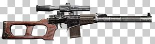 Rifle S.T.A.L.K.E.R.: Shadow Of Chernobyl Firearm VSS Vintorez Weapon PNG