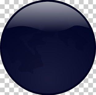 Cobalt Blue Electric Blue Purple Circle PNG