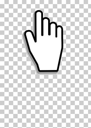 Computer Mouse Pointer Cursor Hand PNG