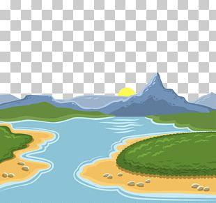 Euclidean Landscape PNG