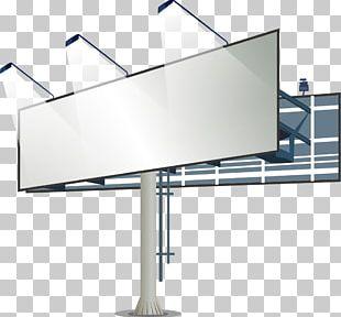 Billboard Advertising Lightbox PNG
