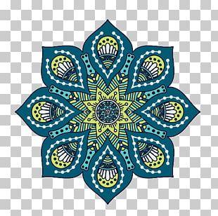 Mandala Islam Ornament Motif PNG