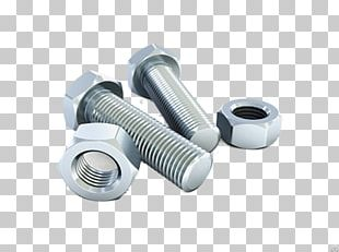 Bolt Nut Fastener Steel Screw PNG