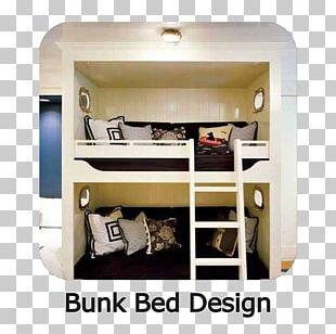 Bunk Bed Bedroom Interior Design Services PNG