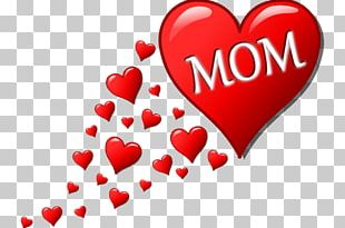Mother's Day Child Heart PNG