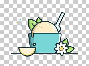Ice Cream Food Logo Illustration PNG