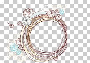 Line Drawing Fashion Ring PNG