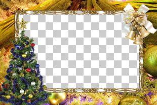 Christmas Santa Claus Frame PNG