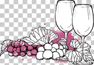 Wine List Menu Wine Festival French Wine PNG