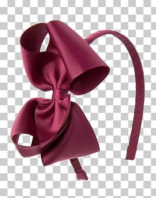 Hair Tie Ribbon Headgear Pink M PNG