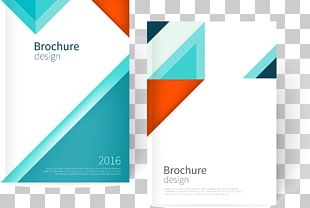 Euclidean Brochure Page Layout PNG