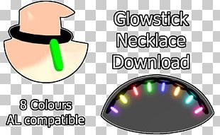 Glow Stick Jewellery Necklace Bracelet Party PNG