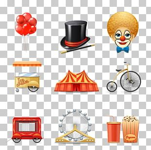 Circus Clown Icon PNG