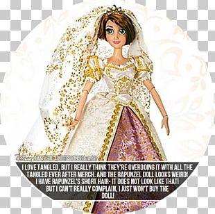 Rapunzel Doll The Walt Disney Company ShopDisney Wedding Dress PNG