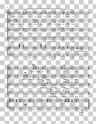 Shrek The Musical Sheet Music Choir PNG