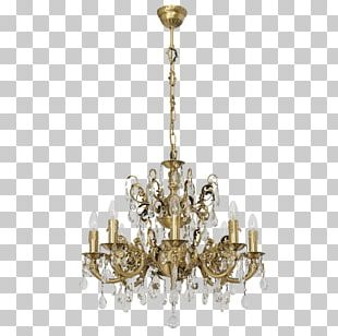 Chandelier Light Fixture Crystal Swarovski AG PNG
