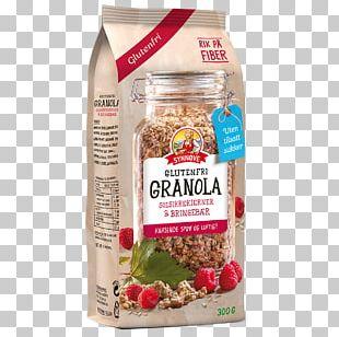 Muesli Breakfast Cereal Granola Gluten Synnøve PNG