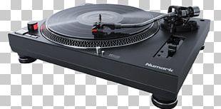 Numark Industries Disc Jockey Phonograph Record DJ Controller Direct-drive Turntable PNG