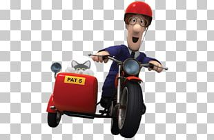 Postman Pat On Motorbike PNG