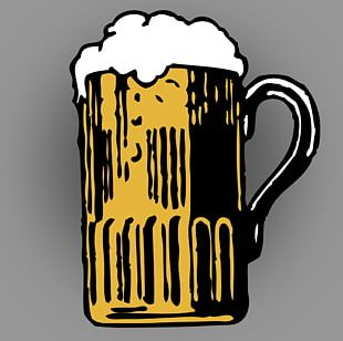Wheat Beer Beer Cocktail Beer Glasses PNG