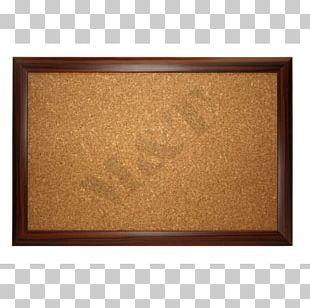 Wood Stain Varnish Frames Cork Rectangle PNG