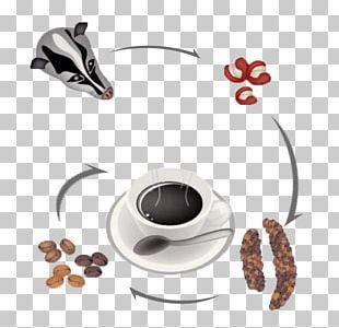 Iced Coffee Kopi Luwak Cafe PNG