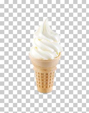 Gelato Ice Cream Cones Vanilla Irish Cream PNG