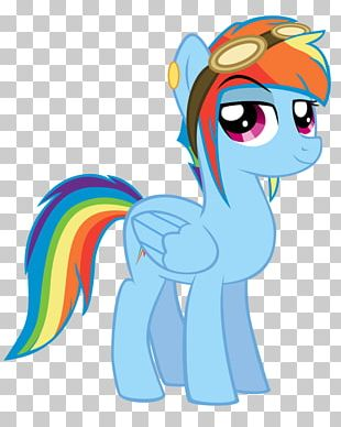 Pony Horse Art Rainbow Dash PNG