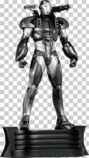 War Machine Iron Man Bowen Designs Marvel Comics Sculpture PNG