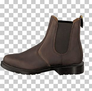 Boots UK Shoe Leather Brown PNG