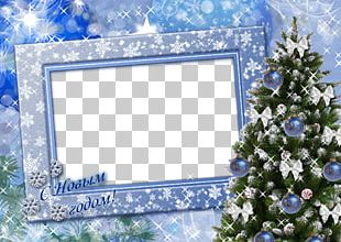 Photography Digital Photo Frame Christmas PNG