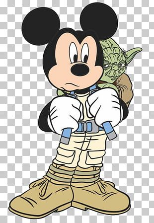 Mickey Mouse Yoda Minnie Mouse Star Wars PNG