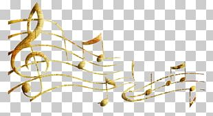 Musical Note Painting PNG